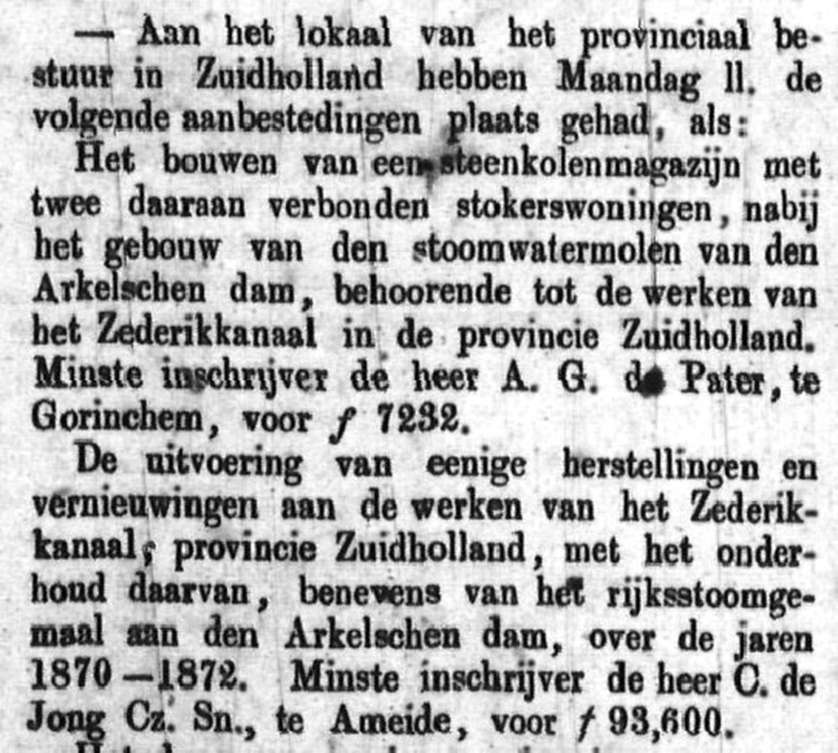 Schoonhovensche Courant 00027 1870-01-02 artikel 1