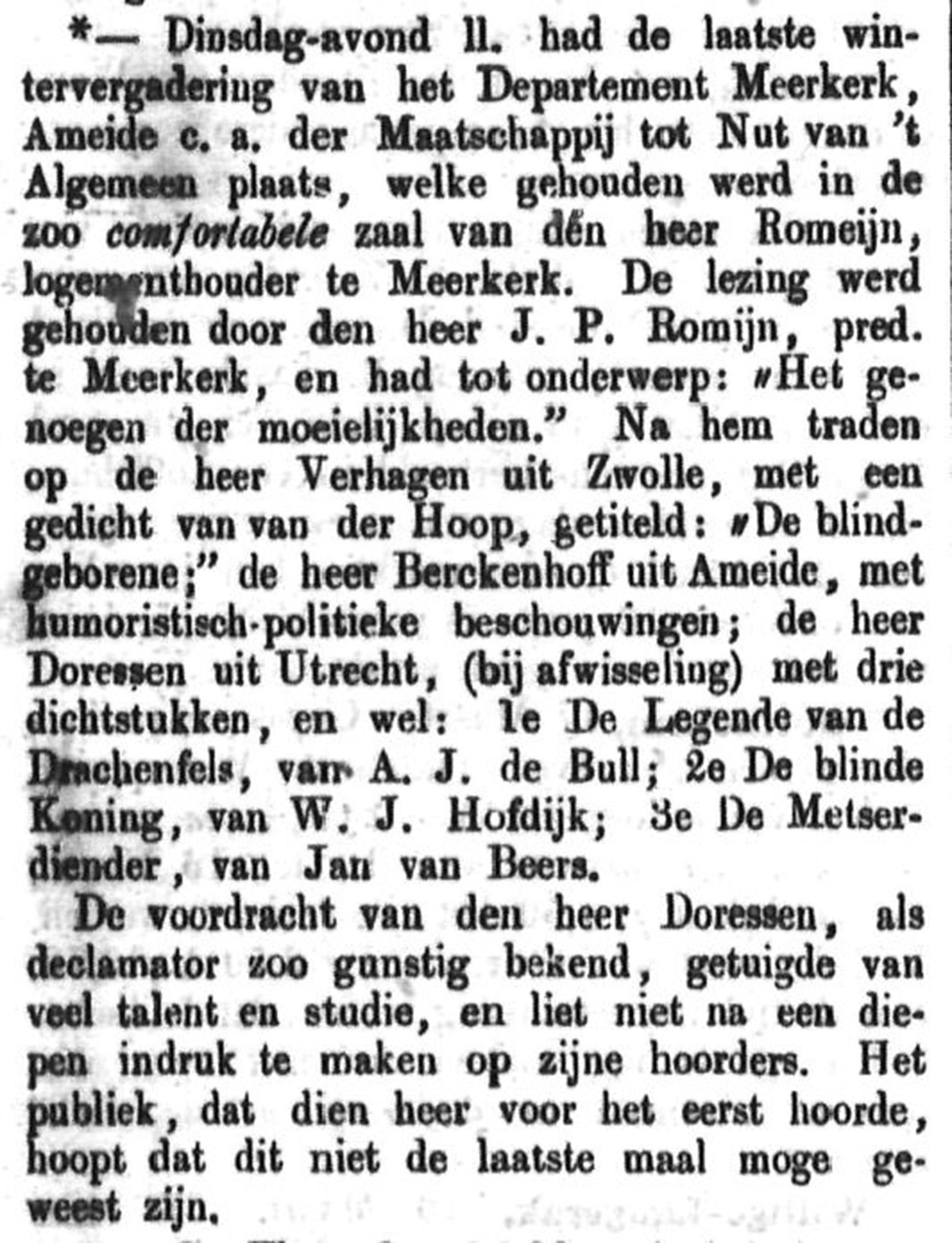 Schoonhovensche Courant 00038 1870-03-20 artikel 1