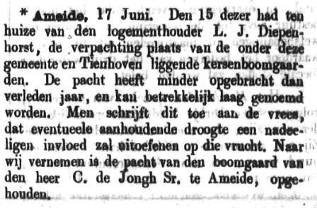 Schoonhovensche Courant 00051 1870-06-19 artikel 1