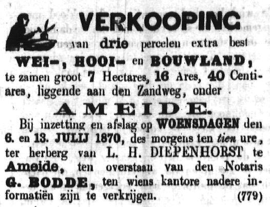 Schoonhovensche Courant 00051 1870-06-19 artikel 2
