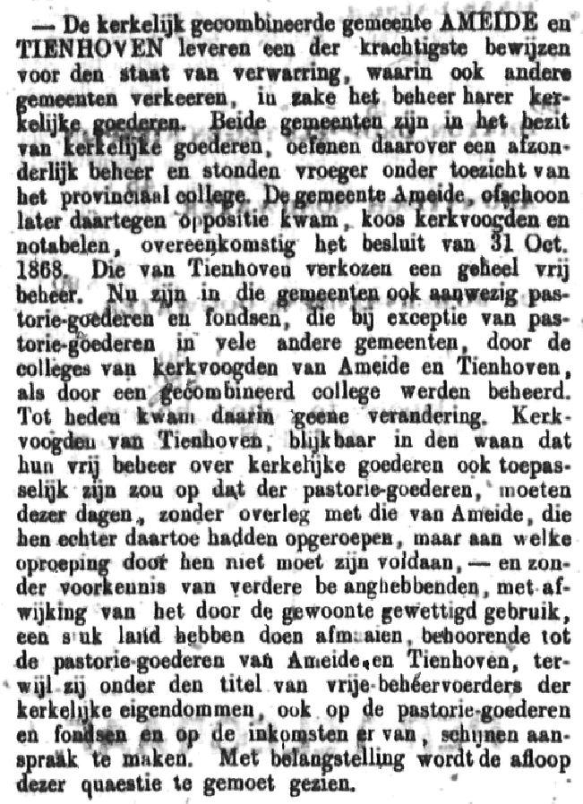 Schoonhovensche Courant 00053 1870-07-03 artikel 1