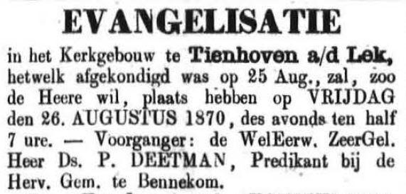 Schoonhovensche Courant 00060 1870-08-21 artikel 1