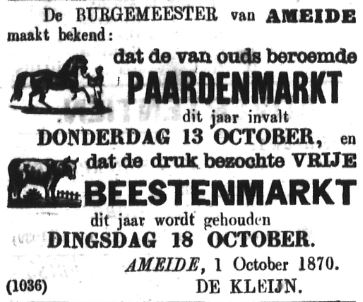 Schoonhovensche Courant 00066 1870-10-02 artikel 1