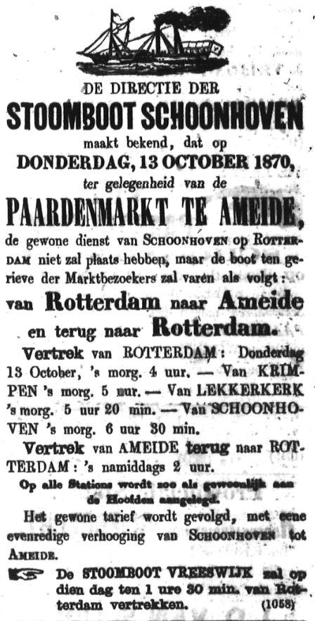 Schoonhovensche Courant 00067 1870-10-09 artikel 1
