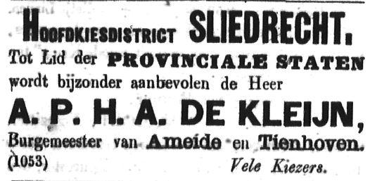 Schoonhovensche Courant 00067 1870-10-09 artikel 2