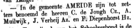 Schoonhovensche Courant 00069 1870-10-23 artikel 1