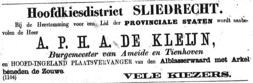 Schoonhovensche Courant 00069 1870-10-23 artikel 2