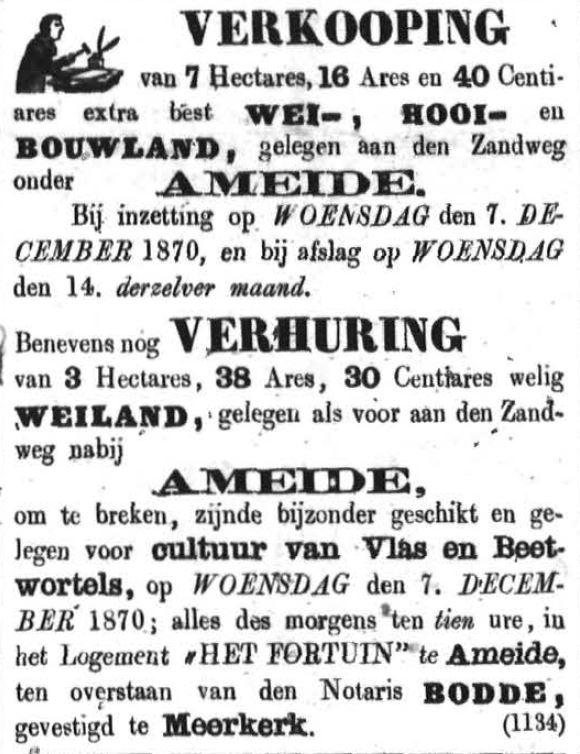 Schoonhovensche Courant 00071 1870-11-06 artikel 2