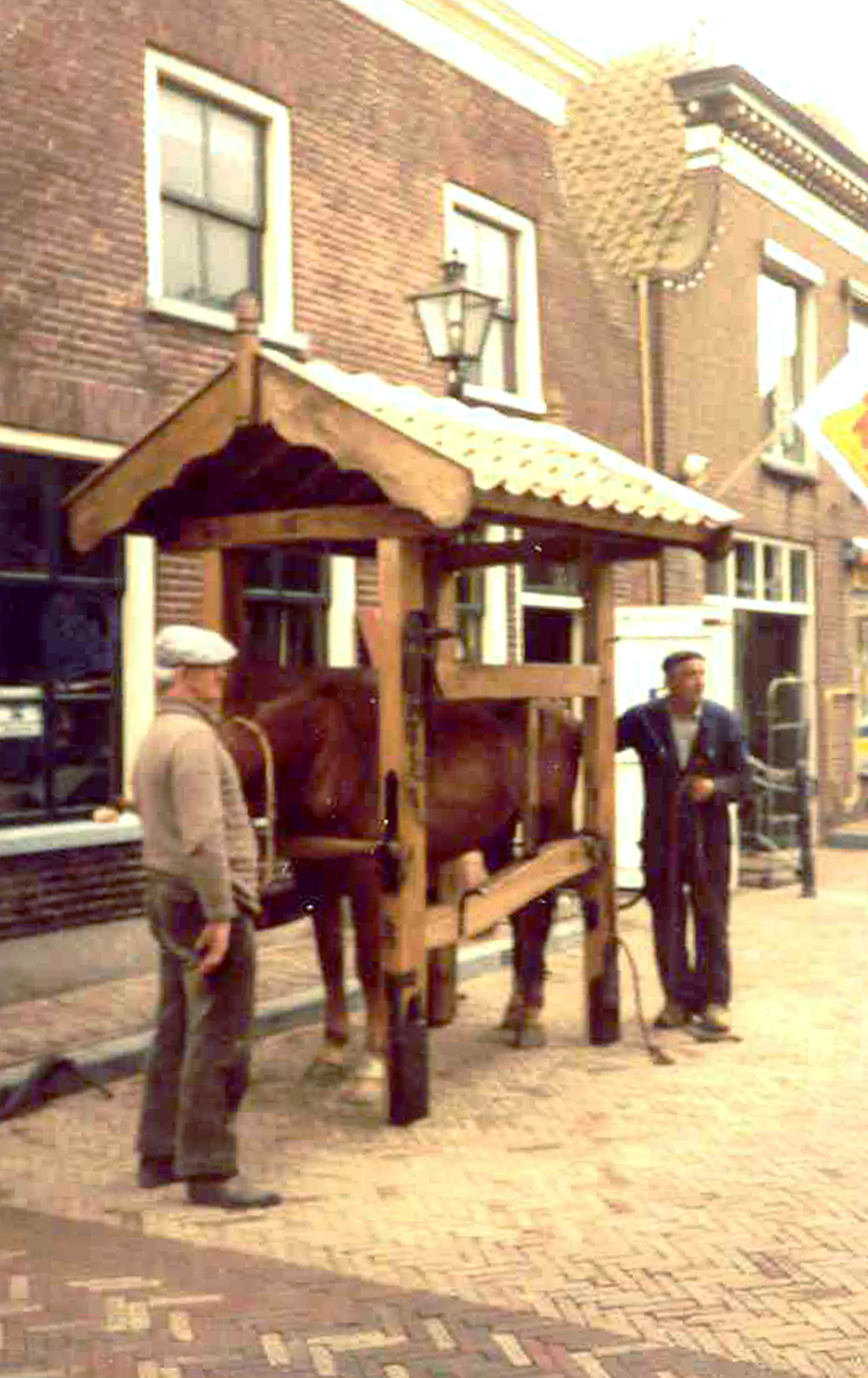 Wim van Woezik en Floor Oosterom (dam)