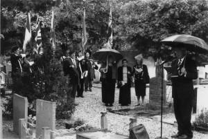 Herdenking begraafplaats 2