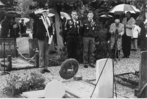 Herdenking begraafplaats 4