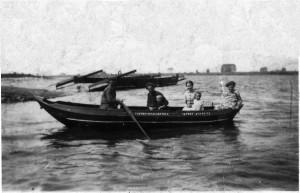 roeiboot veer Tienhoven