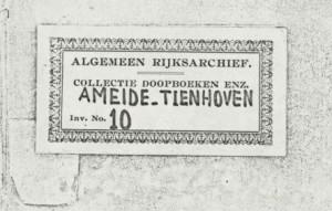 Ameide DTB 10 ondertrouw- en trouwboek. 1795 juli 12-1811 juni 16 a