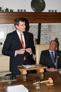 dr. C.C. van Stolk, ambachtsheer van Ameide en beschermheer van de Historische Vereniging Ameide en Tienhoven