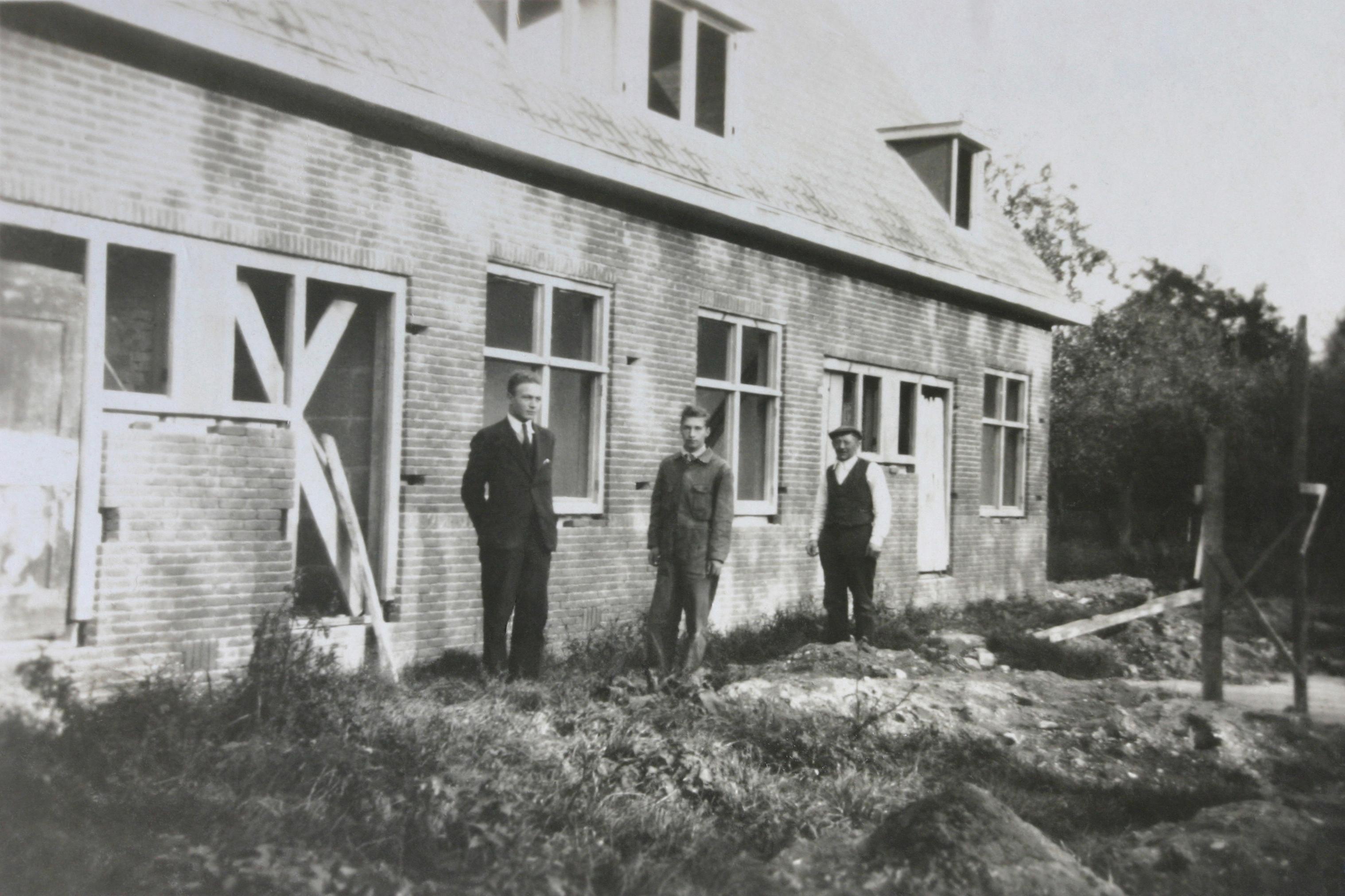 Willem, Corstiaan en Anthon Verheij