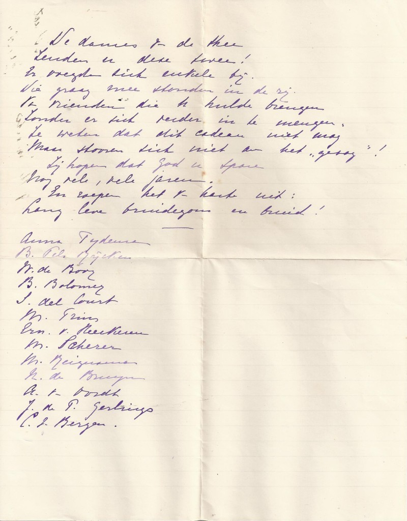 van Eeten-Begram_gedicht voor zilveren bruidspaar_'De dames van de thee'_17-07-1876