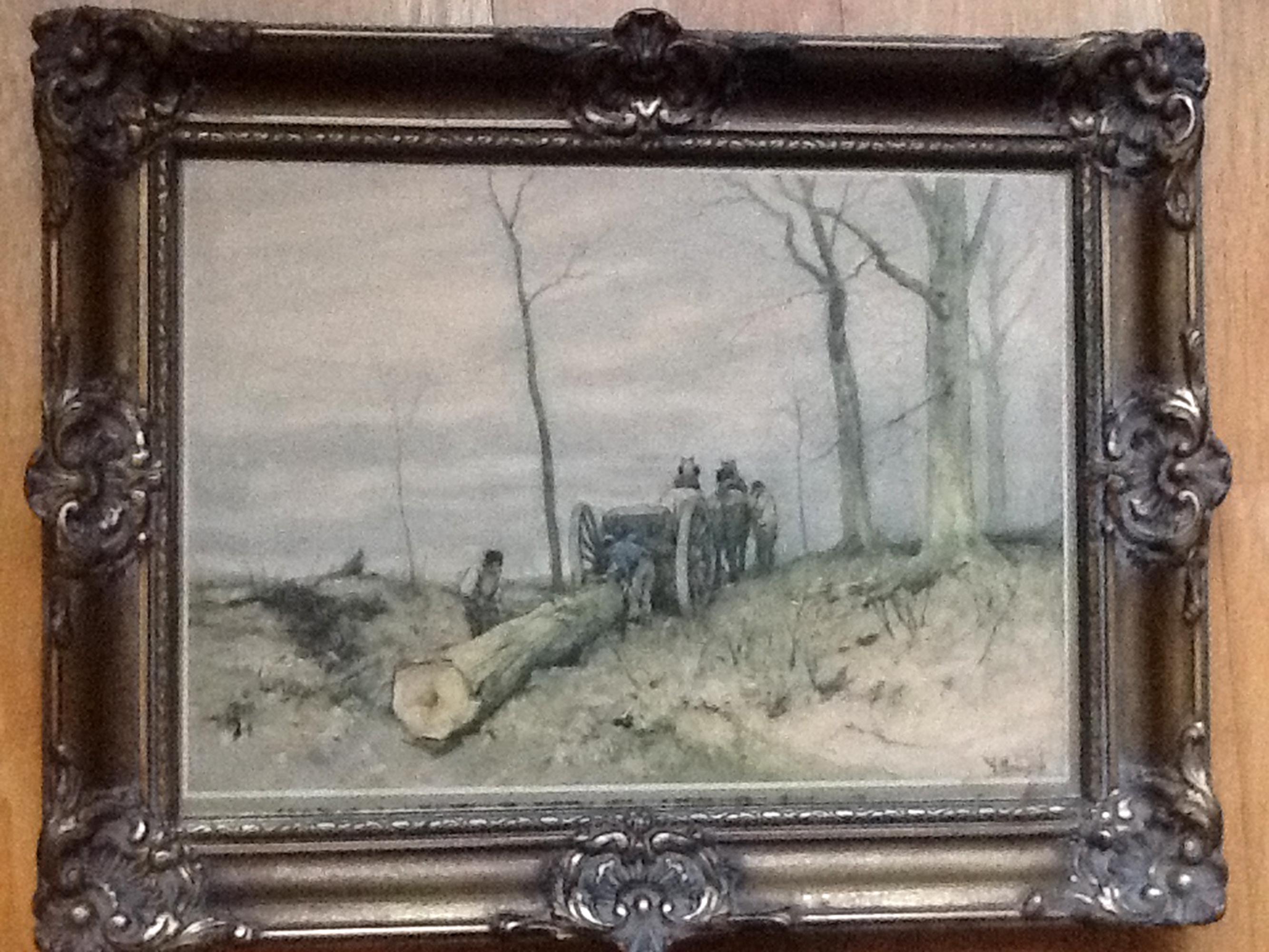 schilderij uit keuken 't Fortuin