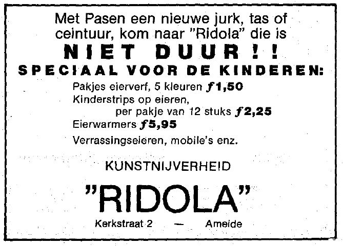 Knipsel Wegwijzer 1984-04-12