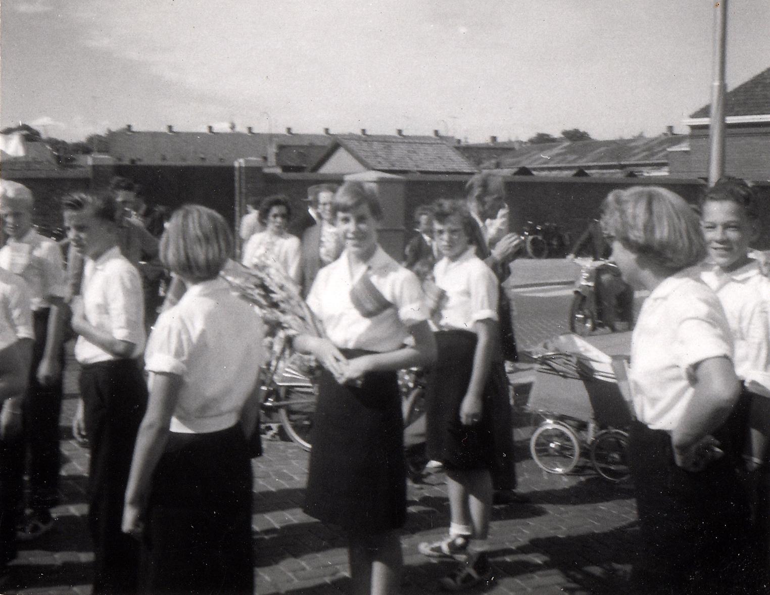 Op Mars 05 Jeugdvierdaagse Breda 1959