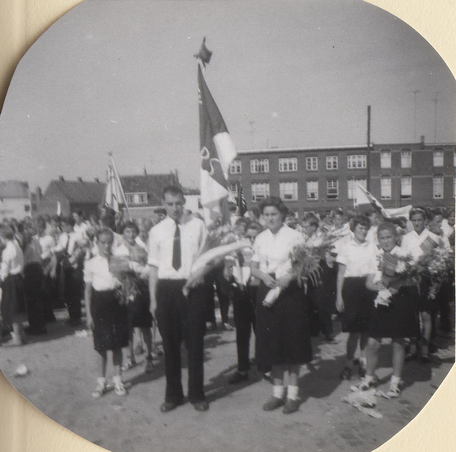 Op Mars 06 Jeugdvierdaagse Breda 1959