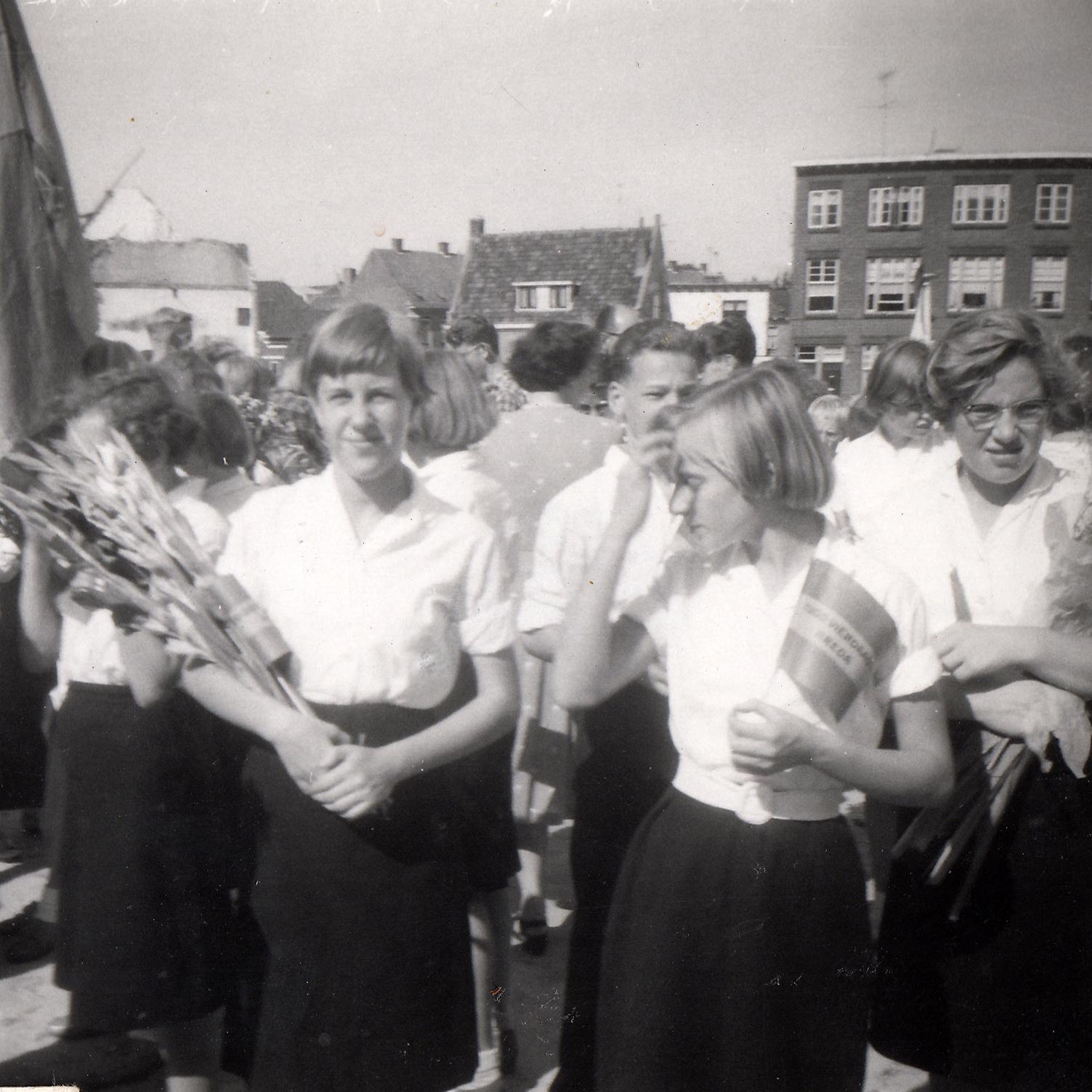 Op Mars 07 Jeugdvierdaagse Breda 1959
