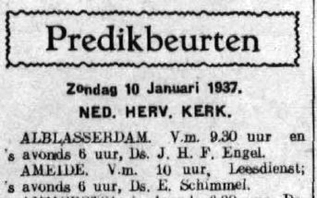 Schoonhovensche Courant 07756 1937-01-08 artikel 01