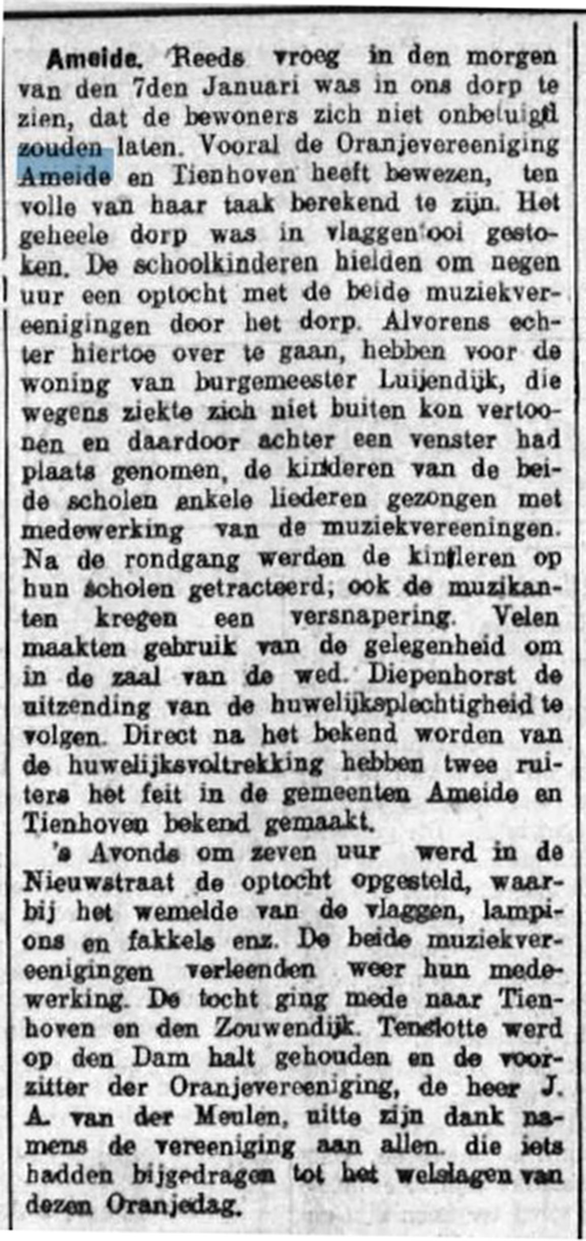 Schoonhovensche Courant 07757 1937-01-11 artikel 01