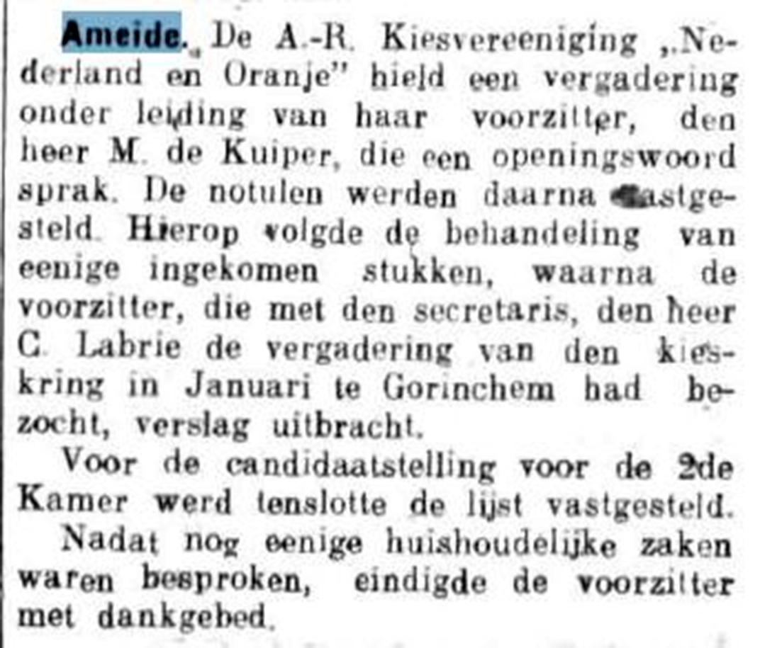 Schoonhovensche Courant 07774 1937-02-19 artikel 01