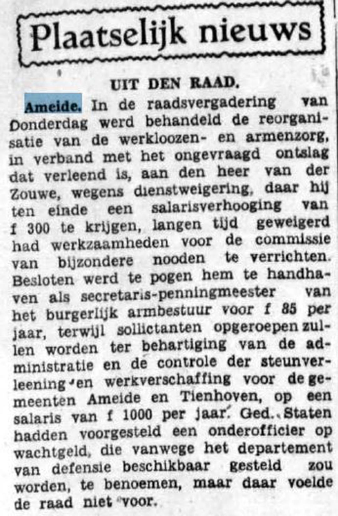 Schoonhovensche Courant 06795 1937-04-12 artikel 01