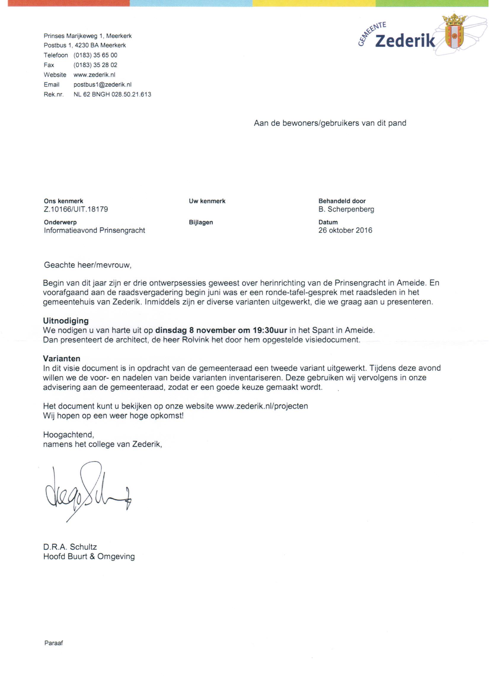 brief-zederik-prinsengracht-2016-10-26
